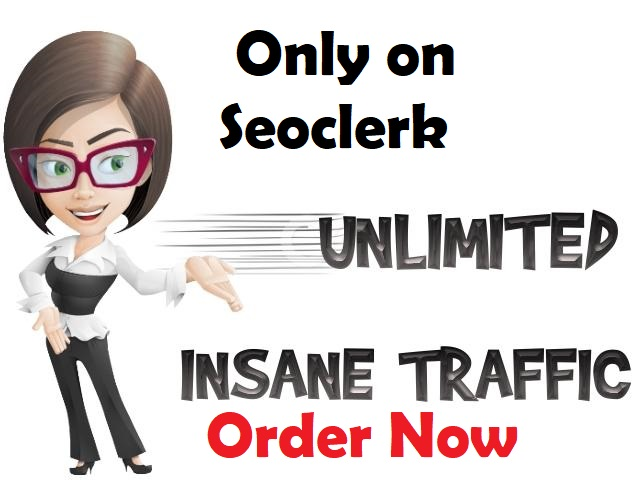 Send Unlimited web traffic for 30 days