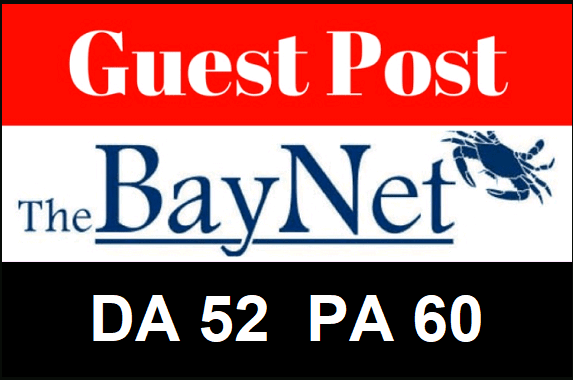 Guest Post On TheBayNet with Dofollow Backlink DA 47