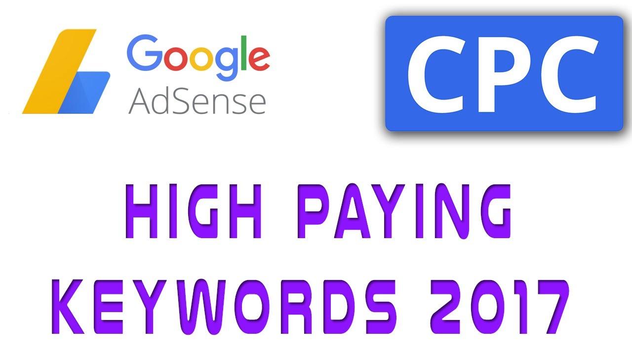 Top 100 Google adsense high CPC keywords list get 1000 per click