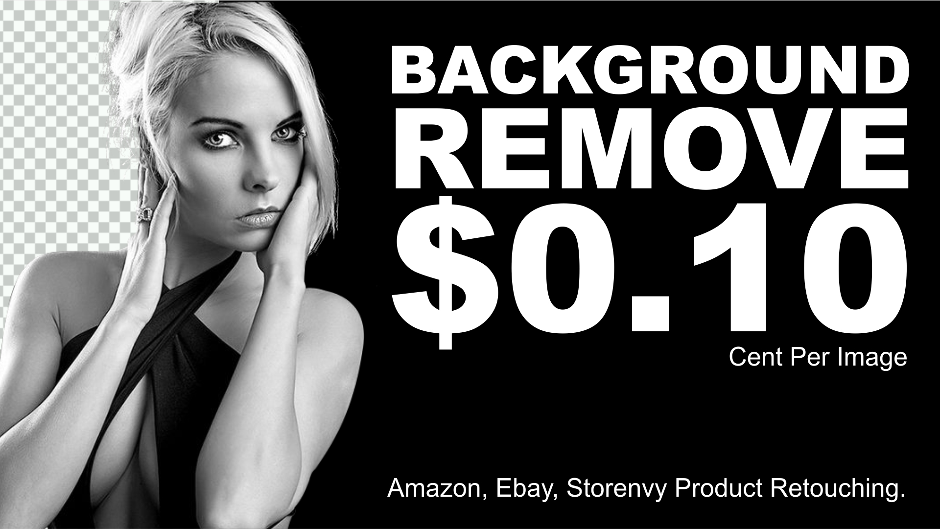 Super Fast Background Removal Service