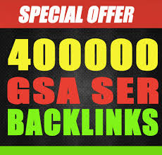 Provide 400,000 Gsa,Ser, Backlinks For Ranking Website