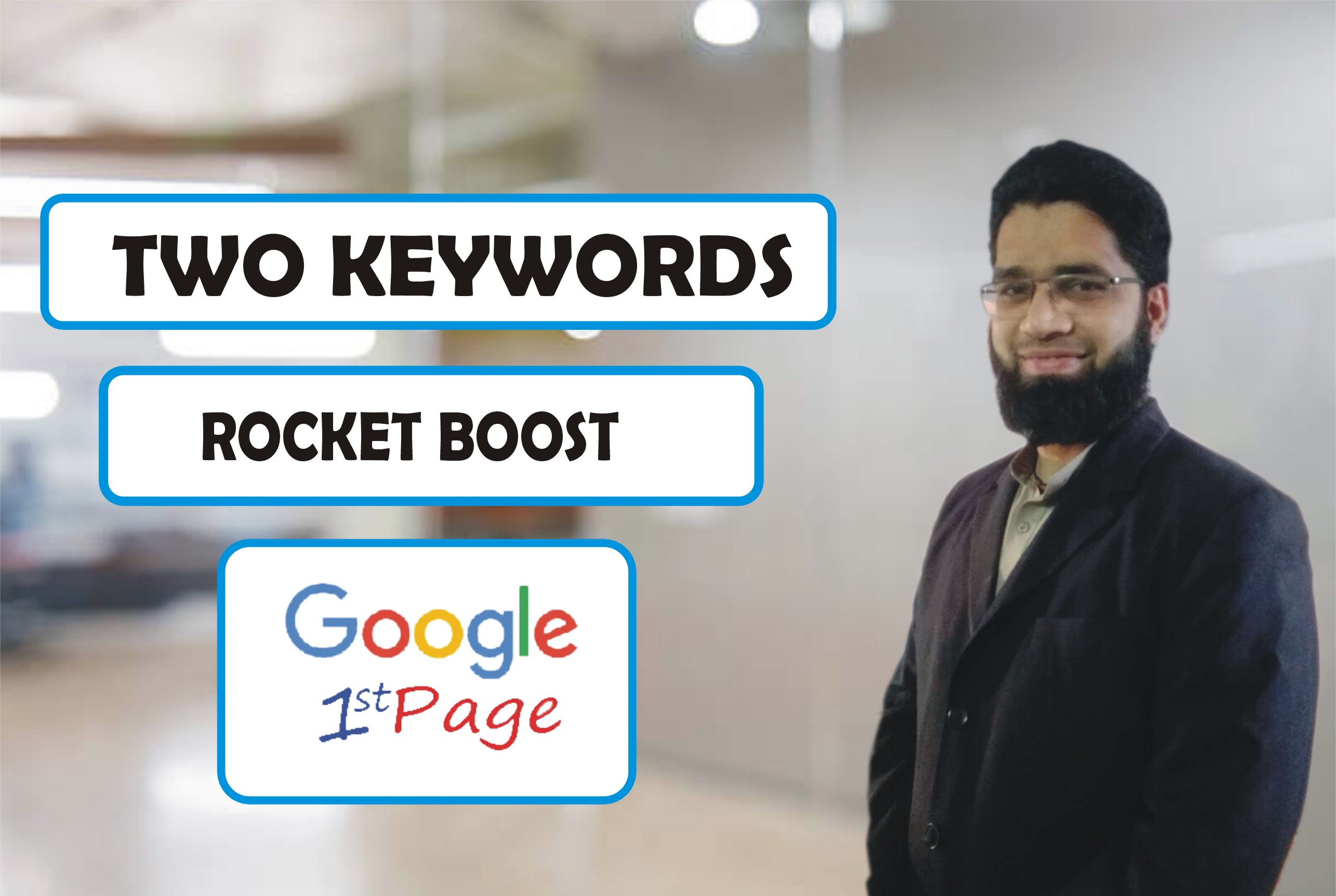 Promote 2 Keywords on Google first Page Guarantee