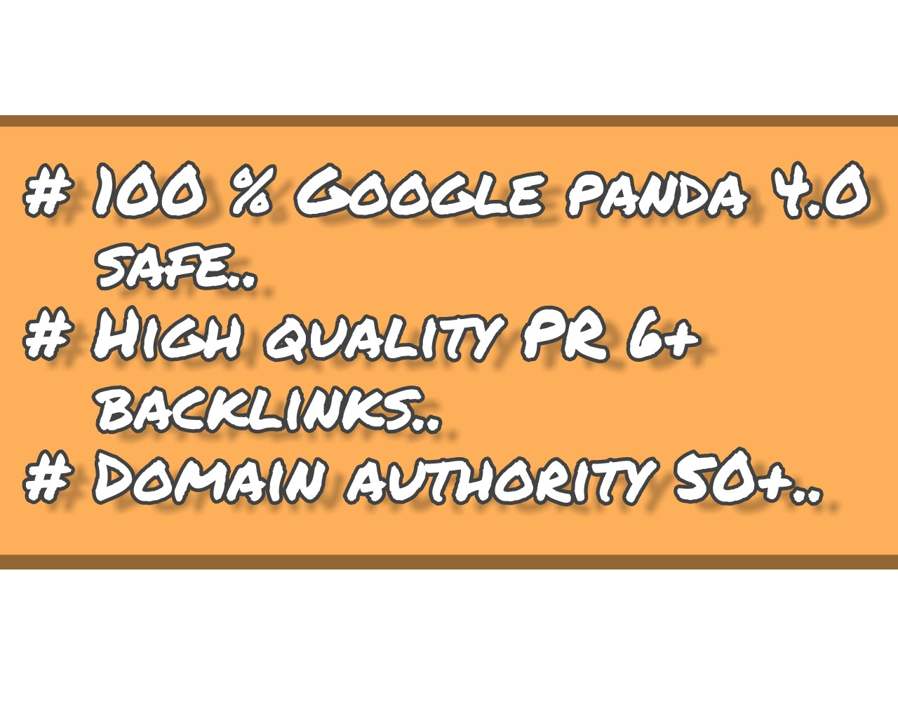 Boost Your website ranking to the top page of google with 60 PR6+ manually submitted Backlinks