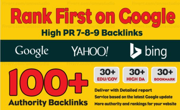 100 Manual Dofollow Backlinks With High Pr