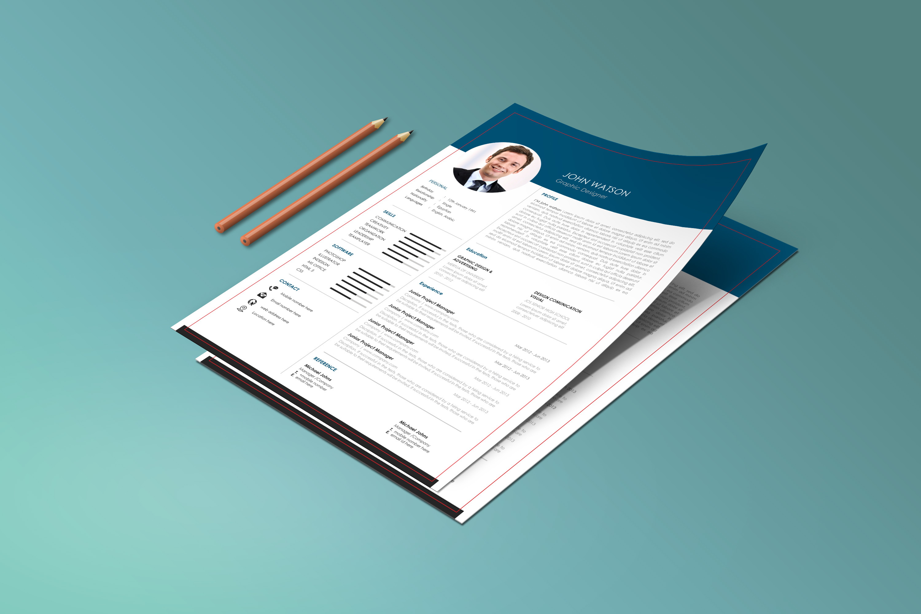 Design Your Resume Cover Letter And Linkedin Profile For 50