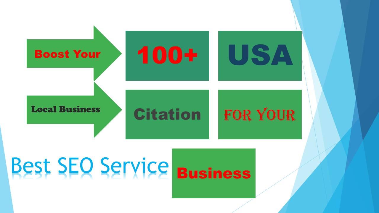 do 100 plus citations for local SEO citation for USA