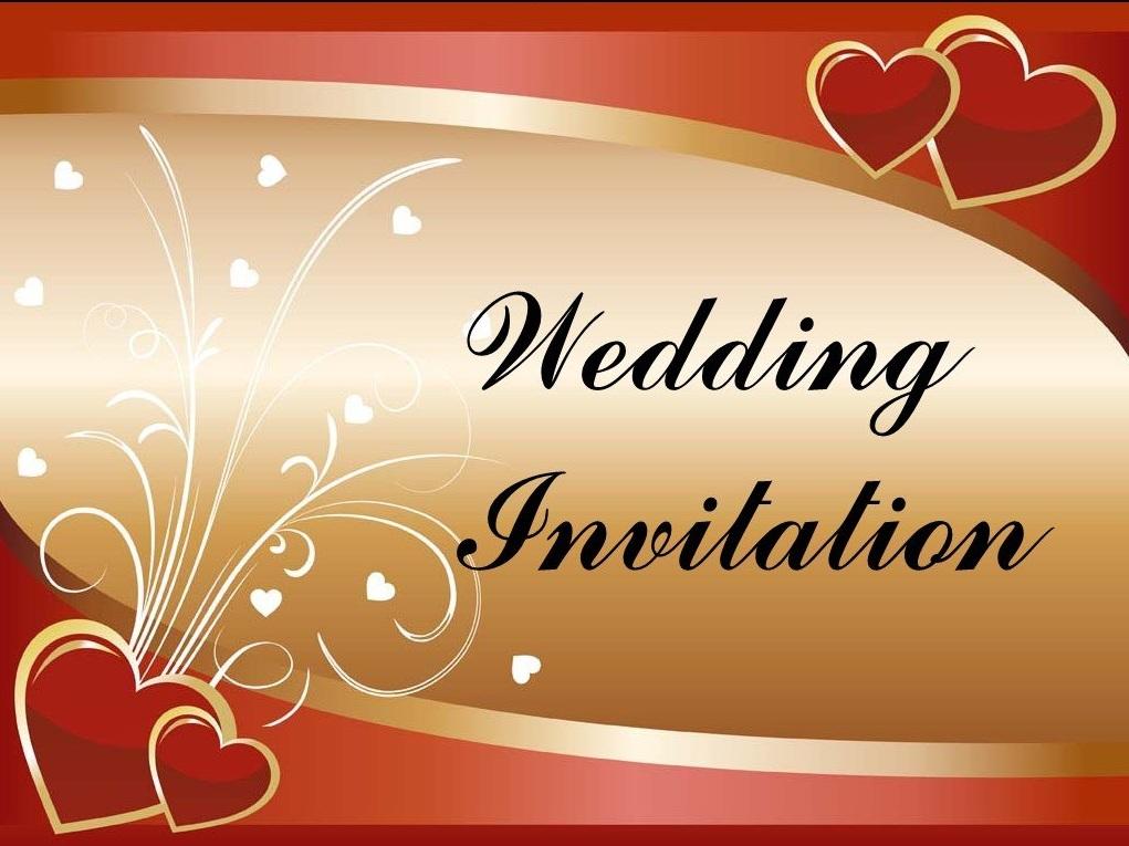I can do a Wedding Invitation e card for you.
