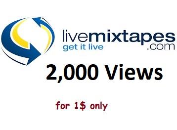 livemixtapes real 5,000 views