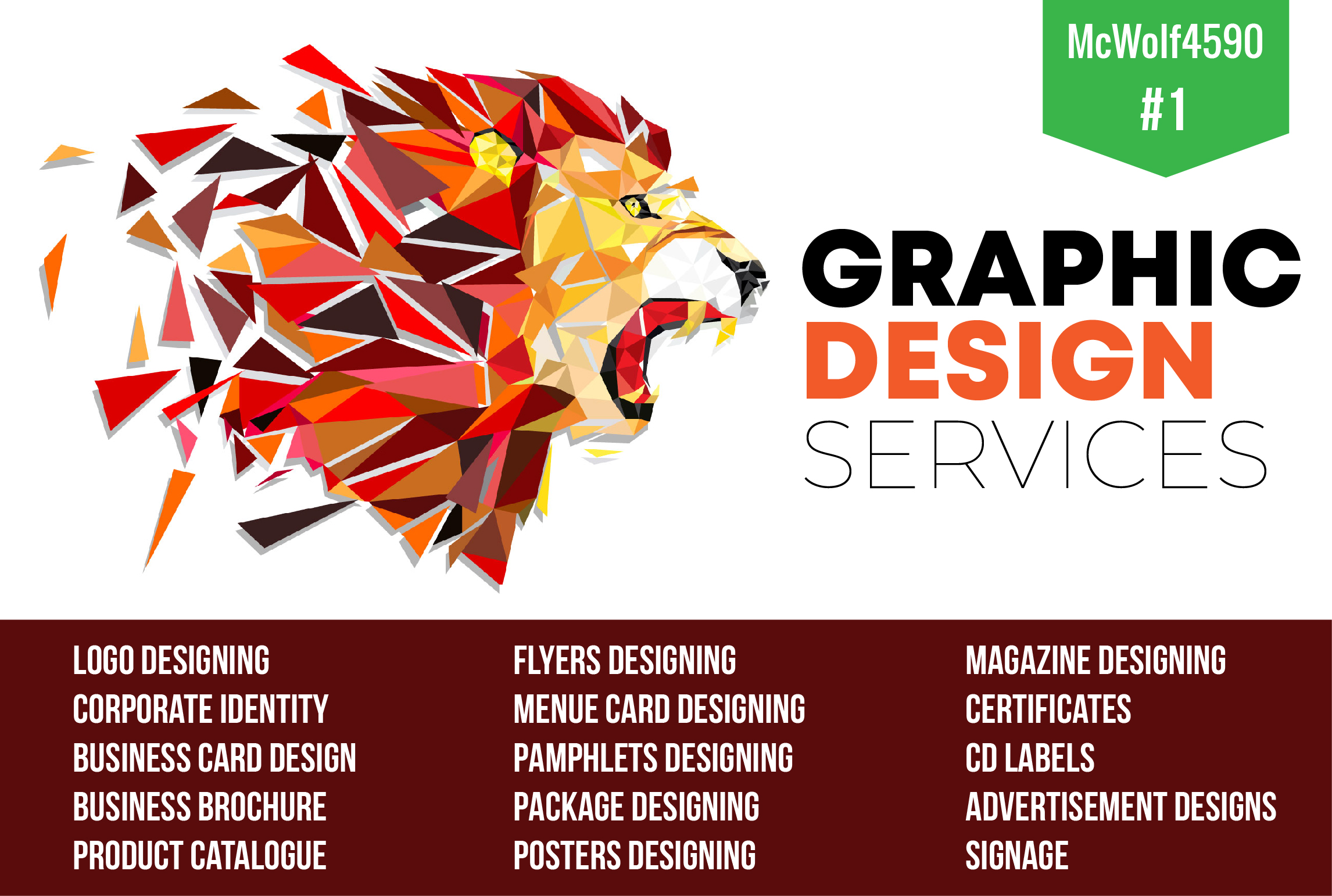do any kind of graphic designing within FEW HOURS