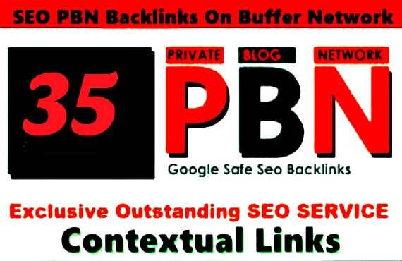 Permanent 35 PBN Contextual Links + 25 Social Bookmarking Links