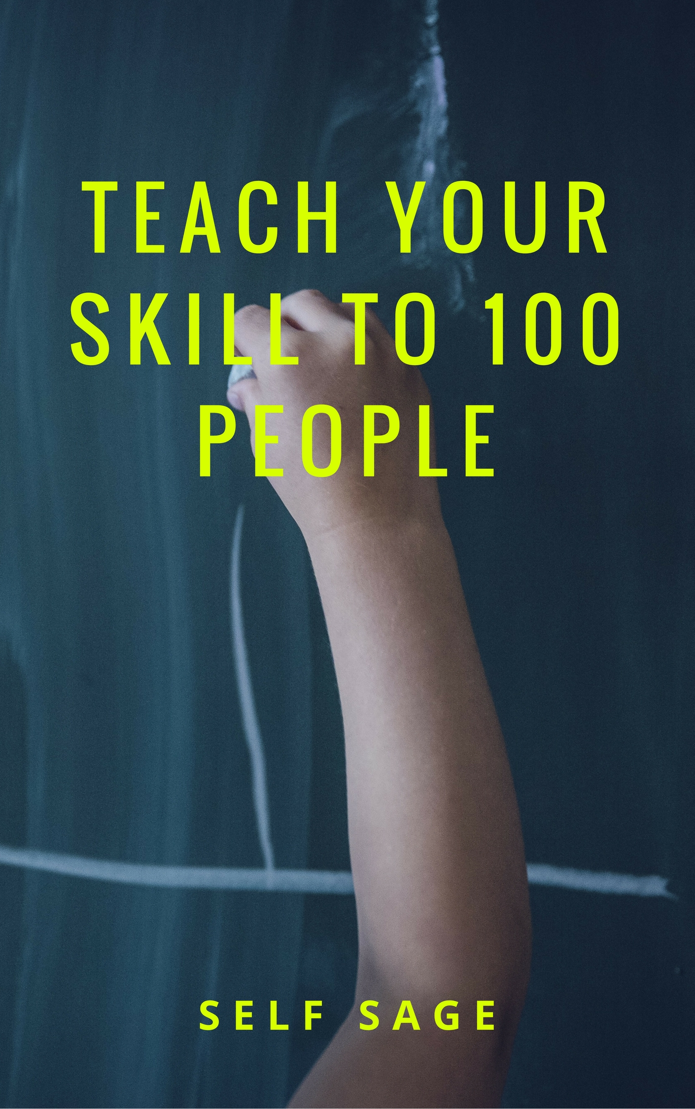 Teach your skill to 100 people - passive income scheme