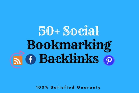 Top 50 Social Bookmarking Backlinks