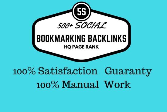Top 50 Social Bookmarking Backlinks