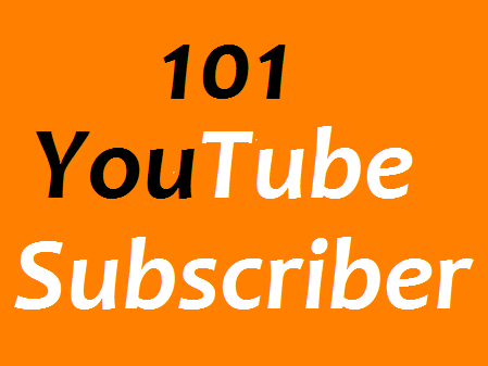 Instant 101+ YouTube Chanel Subscribers non drop Guaranteed in 1-3 hours completed