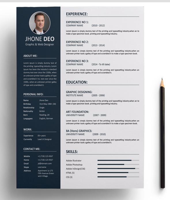 Write Resume, Design Resume, Cv, Cl, Resume Design ...