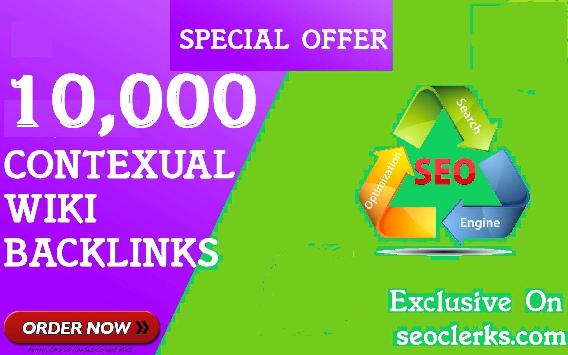 10,000 GSA SER WiKi links for Google SEO