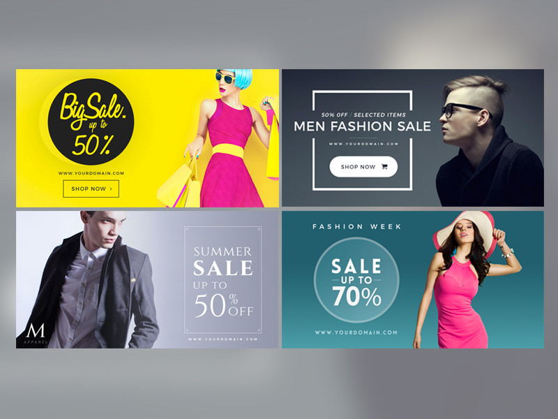 Professional Design Banners Registration Open Banners