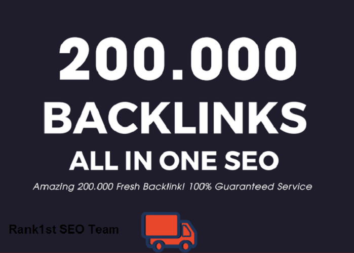 I Will Do 200.000 Super Backlink Fresh Dofollow Mix Nofollow - All in One SEO