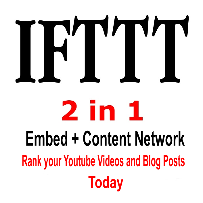 Create A Single IFTTT Network For Both Youtube And Bl...