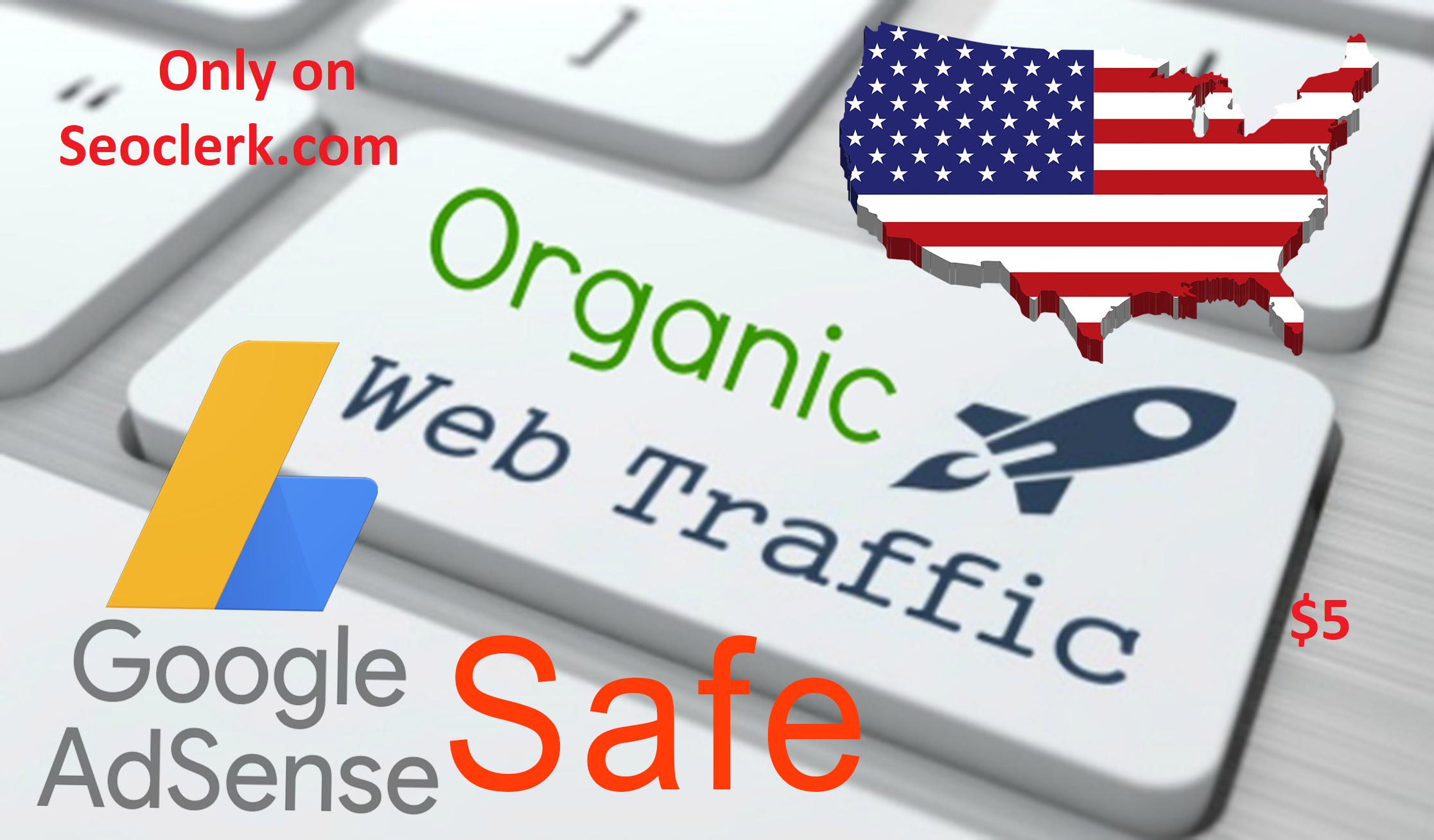 USA keyword target Adsense Safe, organc traffic, for 30 days
