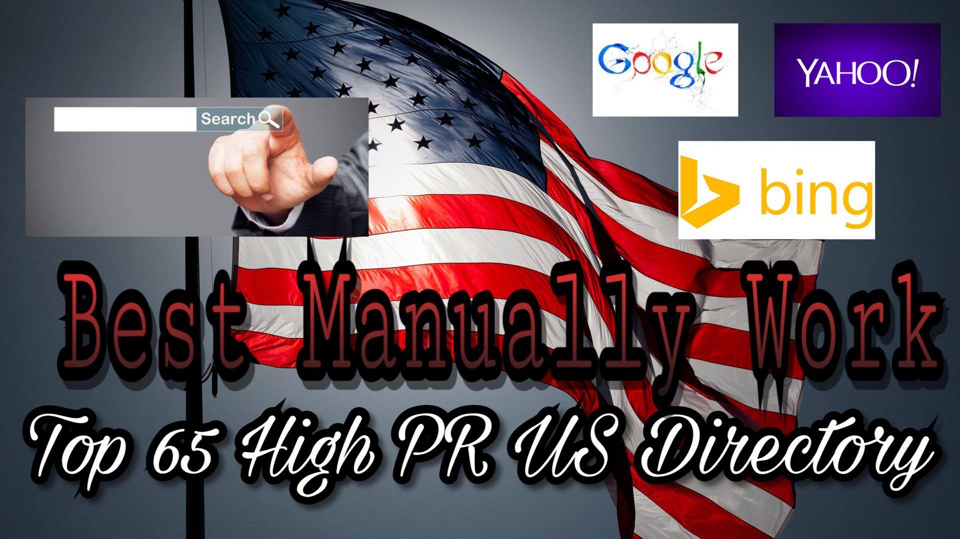 Submit Your Site On Top 70 High PR Us Directory Manually