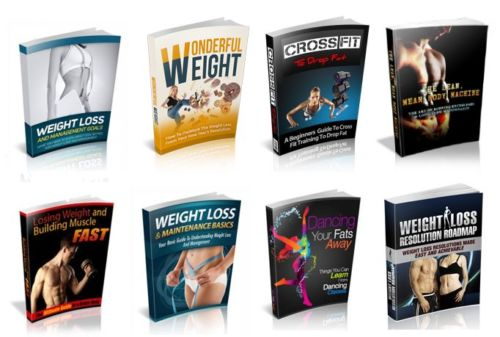 100 Weight Loss & Fitness eBooks on PDF MRR