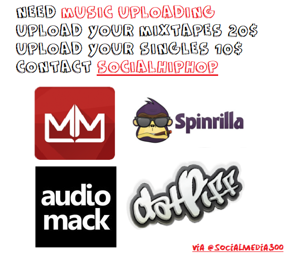 upload your single on datpiff mymixtapez audiomack