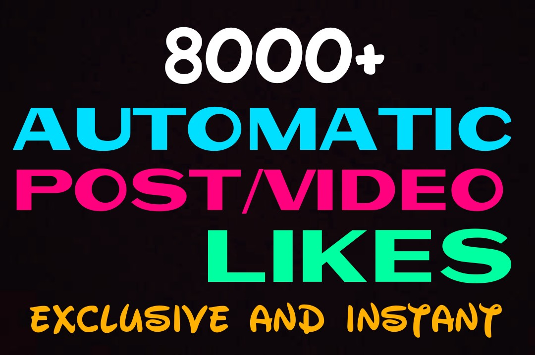 Add 8000+ Auto promotion for upcoming post instantly