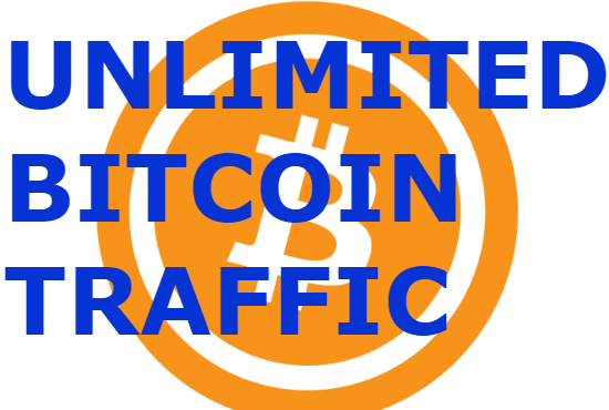 send targeted bitcoin traffic,  quality visitors,  no bots