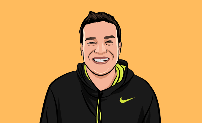drew your Cartoon Portrait