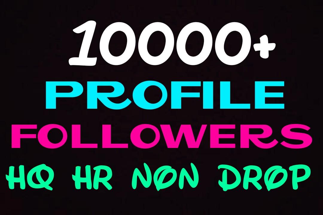 Add 10000+ worldwide profile promotion professionally