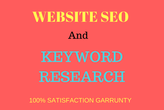 SEO and best keyword research
