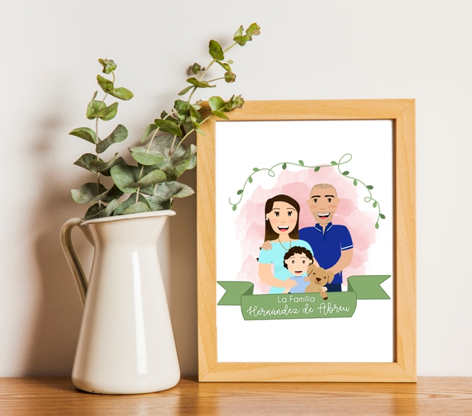 Family or couple portrait in my cute style