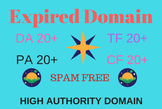 Expired domain research