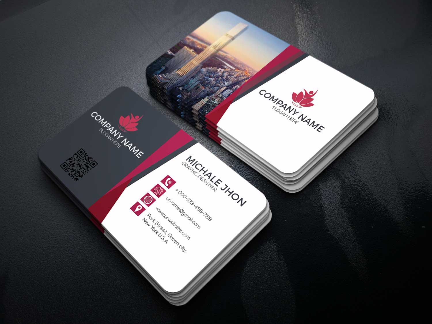 Design a unique business card a for $5 - SEOClerks
