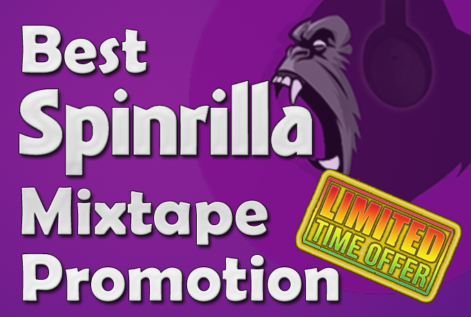 Spinrilla 1300 play/view + 100 downloads