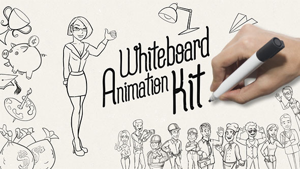Create professional whiteboard animations