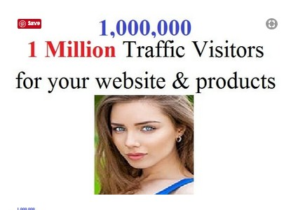 attract 1 million traffic visitors for your website