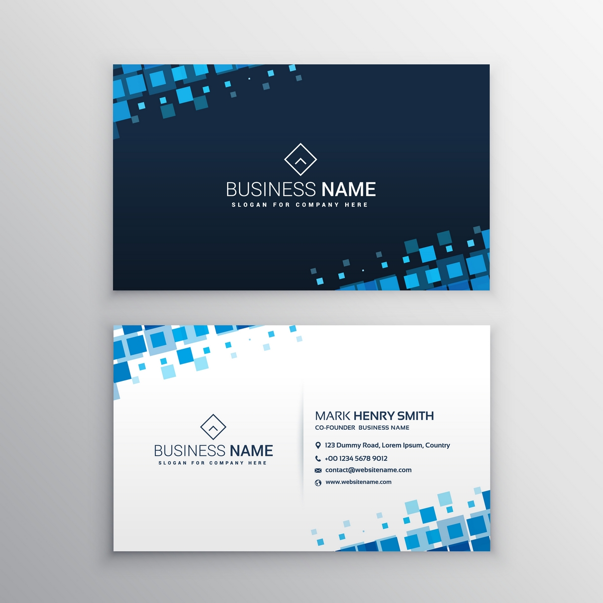 Design 3 Unique & Stylish Business Cards with PSD...