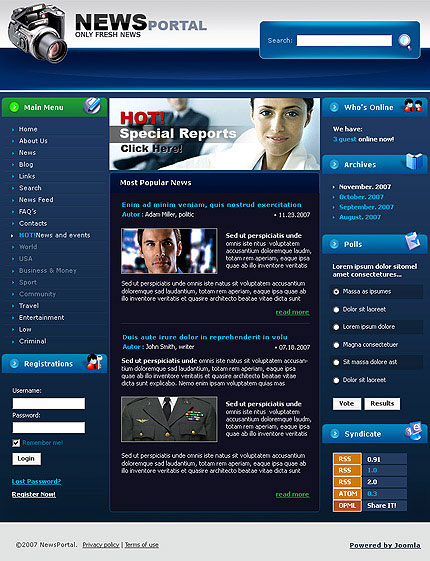 will give full news portal design in wordpress for you for