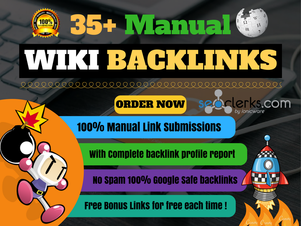 Build high quality wiki links in 24 hours with complete report