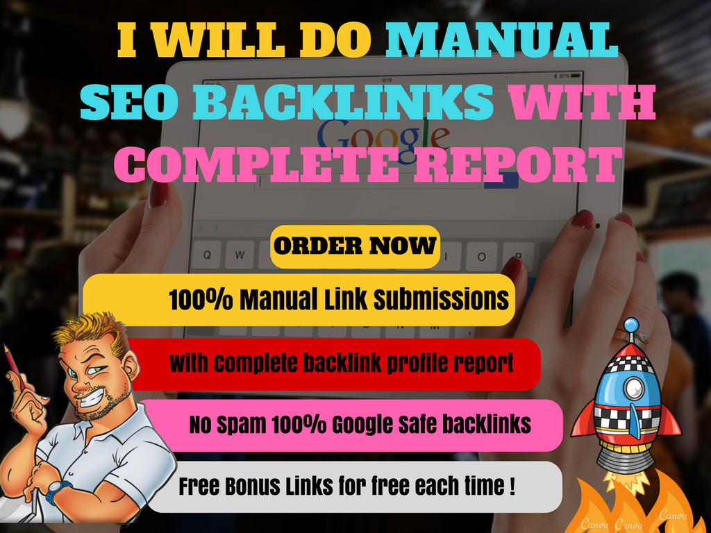 Build High Quality Manual Backlinks From Very High Authority Sites