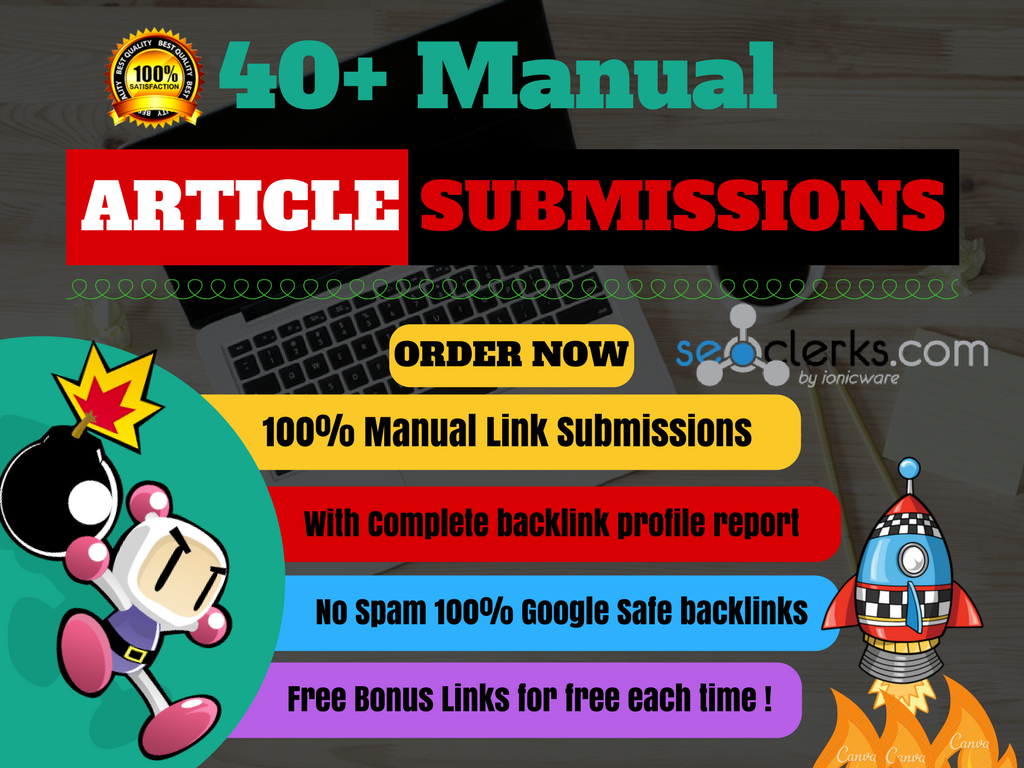 Do Manual High Authority Article Directories Submissions