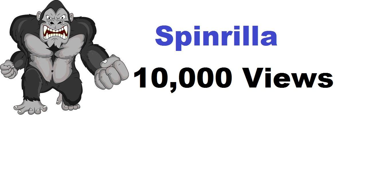 10,000 views spinrilla mixtape
