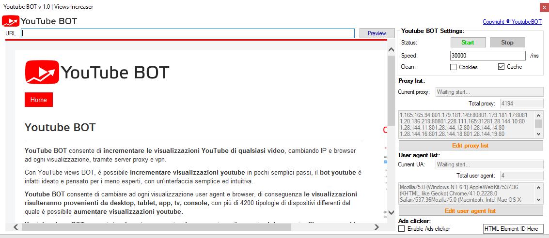 YouTube BOT - Professional views BOT