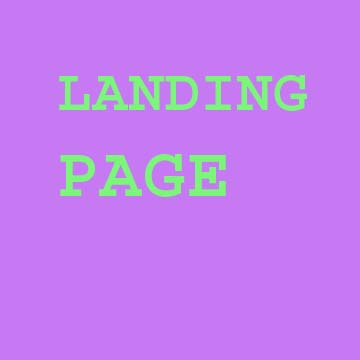 We make a very good lading page your company