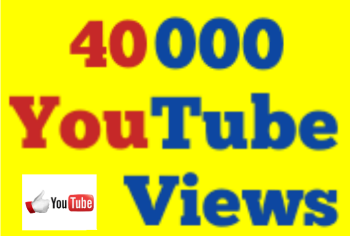25000 to 40,000 High Quality Non Drop Youtube V iews 12/24 hrs Fast Speed