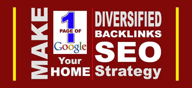 RULE GOOGLE, Get on Google's 1st Page with Diversified Backlinks - BUY 580 Diversified Backlinks