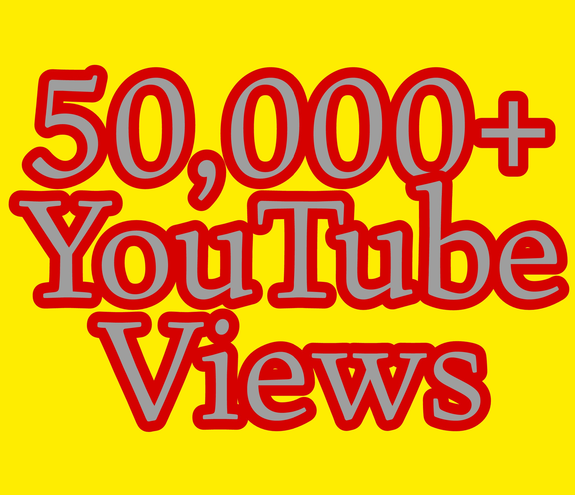 Safe 50,000+ You Tube Vie ws nondrop fast delivery
