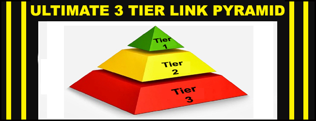 Dominate the 1st Page of Google with ULTIMATE 3 Tier Link Pyramid